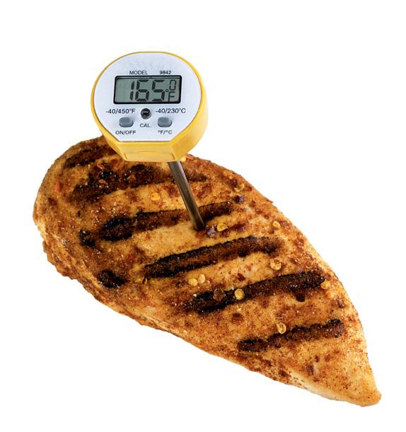Chicken temperature