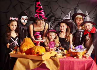halloween_party_group_cooking_food_safety_illness