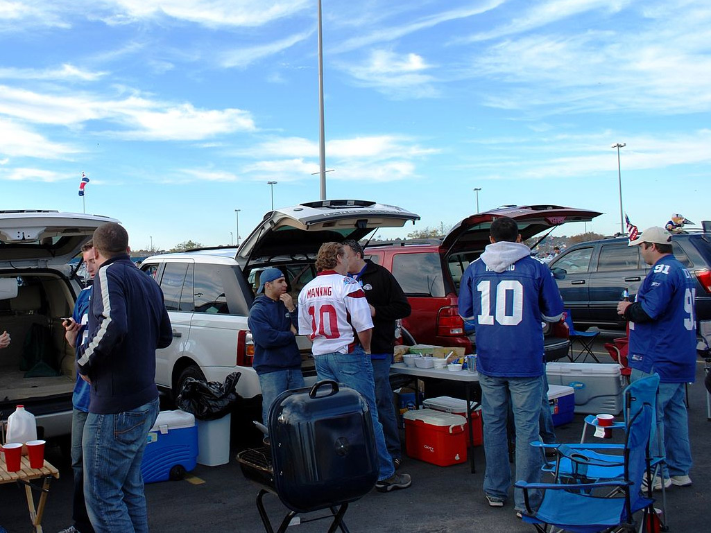 sports tailgating
