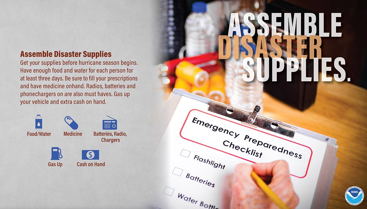 NWS - Assemble Disaster Supplies