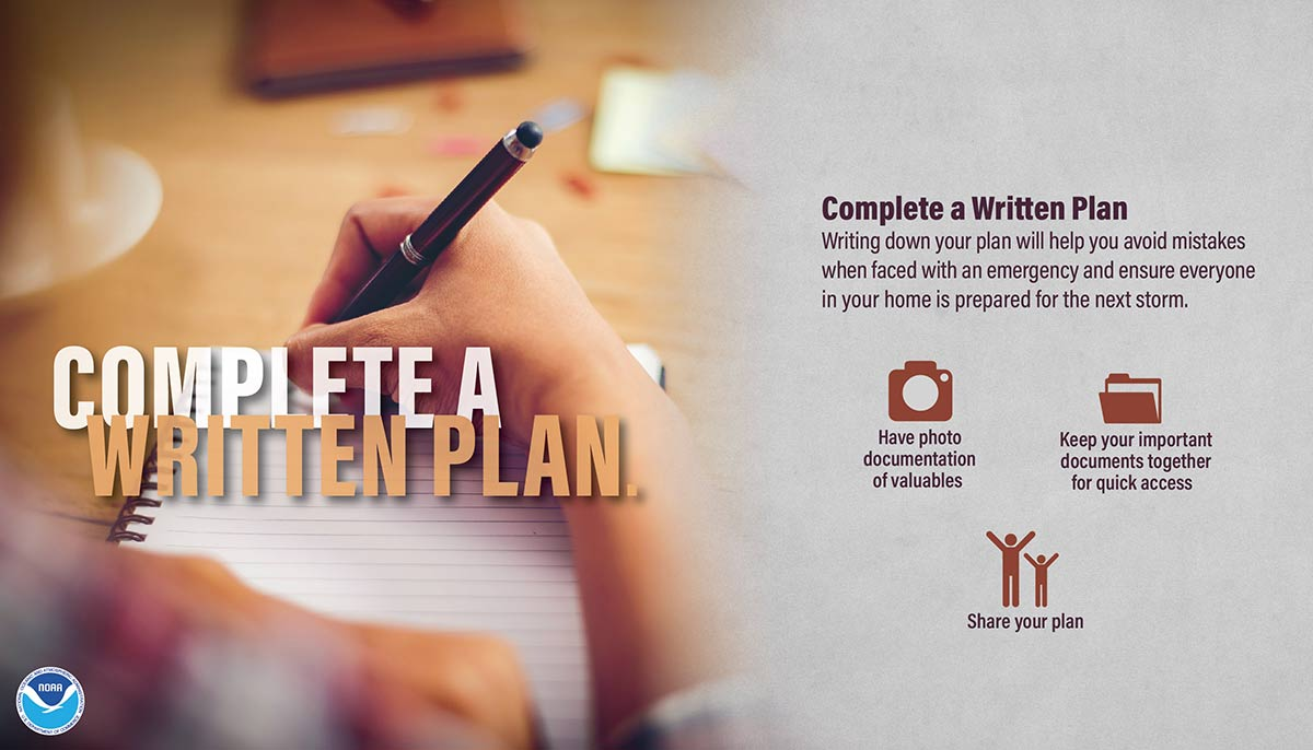 NWS - Complete A Written Plan