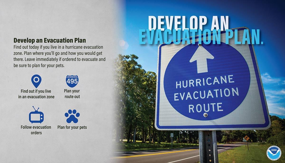 NWS - Develop an Evacuation Plan