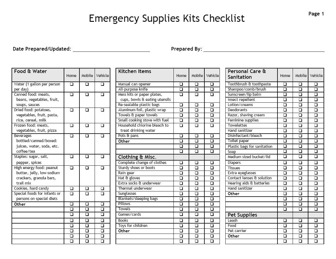 emergency-supplies-checklist